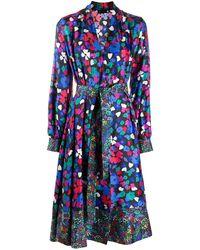 Stine Goya Wildflowers フローラル ドレス - ブラック