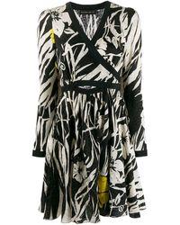 Etro カットアウト ドレス - ブラック