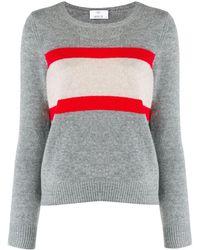 Allude - カラーブロック セーター - Lyst