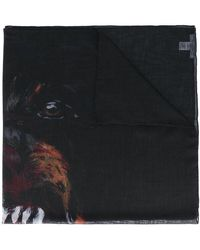 Givenchy Sciarpa 'rottweiler' - Nero