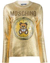 Moschino - エンブロイダリー セーター - Lyst