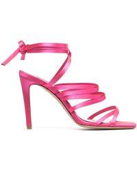 Pinko ストラップ フラットサンダル - ピンク