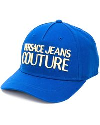 Versace Jeans ロゴ キャップ - ブルー