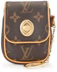 Louis Vuitton 2006 Pre-owned Mini Pochette Tulam Pouch - Bruin