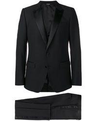 Dolce & Gabbana Costume trois pièces classique - Noir