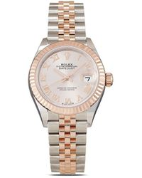 Rolex Orologio Oyster Perpetual Datejust 28mm 2020 - Rosa