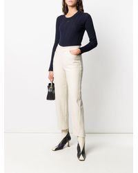 Courreges - ロングスリーブ トップ - Lyst