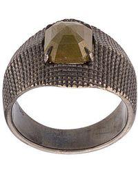Loree Rodkin - 18kt Gold Yellow Diamond Ring - Lyst