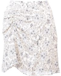 10 Crosby Derek Lam - Skirt With Ruched Detail - Lyst