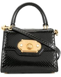Dolce & Gabbana Borsa a spalla Welcome mini - Nero