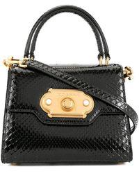 Dolce & Gabbana Bolso de hombro Welcome mini - Negro