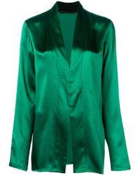 Haider Ackermann Metallic Blouse - Green