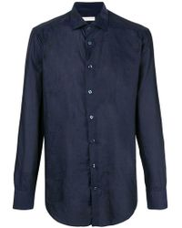 Etro - Slim Fit Patterned Shirt - Lyst