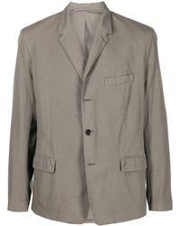 Lemaire シングルジャケット - グレー