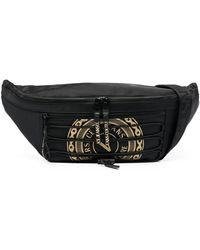 Versace Jeans Couture Поясная Сумка С Логотипом - Черный