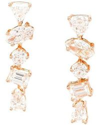 Kimberly Mcdonald - 'offset Bar' Diamond Stud Earrings - Lyst