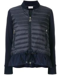 Moncler - Quilted Zipped Cardigan - Lyst