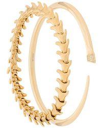 Shaun Leane Serpent And Signature Tusk ブレスレット セット - マルチカラー