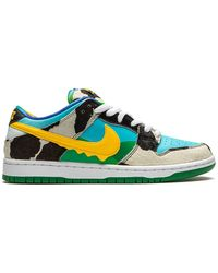 Nike Baskets SB Dunk Ben & Jerry's - Bleu