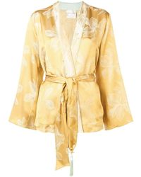 Forte Forte Belted Jacket - Yellow