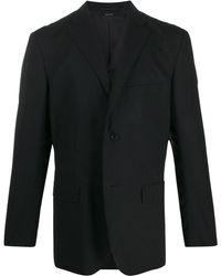 Issey Miyake テーラード ジャケット - ブラック