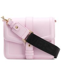 Versace Jeans Crossbodytas Met Gespen - Roze