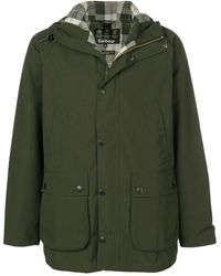 Barbour Sl Beadle Hooded Casual Jacket - グリーン
