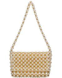 Vanina Mist Pearl-embellished Mini Bag - Multicolour