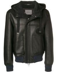Lanvin ボンバースタイル ジャケット - ブラック
