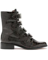 Blue Bird Shoes - Merzouga クロコパターン ブーツ - Lyst