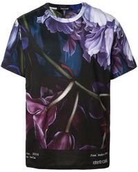 Roberto Cavalli Marchito Tシャツ - マルチカラー