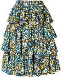 LaDoubleJ Big Mama Skirt - Blauw