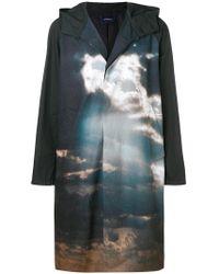 Undercover - Landscape-print Oversized Coat - Lyst