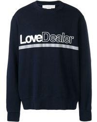 Golden Goose Deluxe Brand Love Dealer スウェットシャツ - ブルー