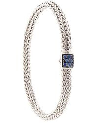 John Hardy - Classic Chain Sapphire Extra-small Bracelet - Lyst