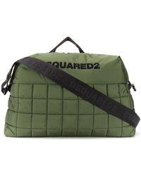 DSquared² Дорожная Сумка С Логотипом - Зеленый