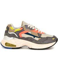 Premiata Chunky Sole Sneakers - Multicolor