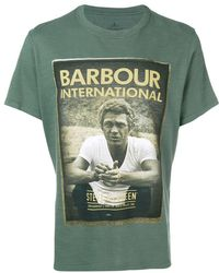 Barbour - Photo Print T-shirt - Lyst