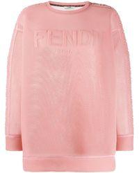 Fendi - ロゴ スウェットシャツ - Lyst