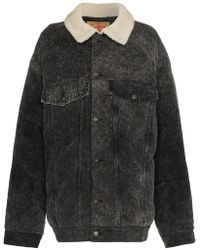 Y. Project - Denim Puffer Jacket - Lyst