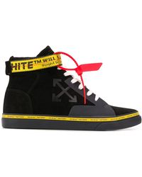 Off-White c/o Virgil Abloh - 'Vulcanized' High-Top-Sneakers - Lyst