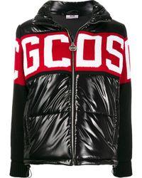 Gcds ロゴ パデッドジャケット - ブラック