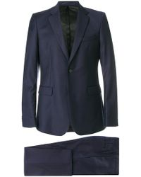 Givenchy - Slim Single Breasted Suit - Lyst