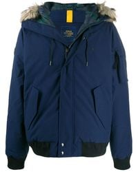 Polo Ralph Lauren - Fur-hood Down Jacket - Lyst