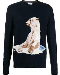 Ballantyne Pullover mit Bären - Blau