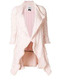 Edward Achour Paris - Tweed Coat - Lyst