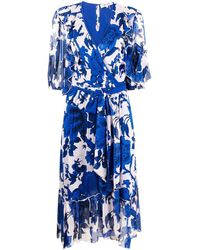 Diane von Furstenberg - フローラル ラップドレス - Lyst
