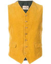 Hermès Вельветовый Жилет - Многоцветный