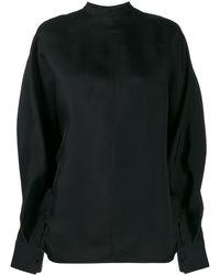 Jil Sander Oversized Sweatshirt - Black
