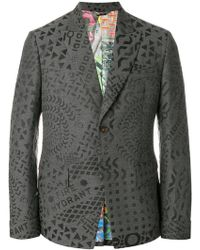 632a804ef5b8 Vivienne Westwood Anglomania - All Over Printed Blazer - Lyst